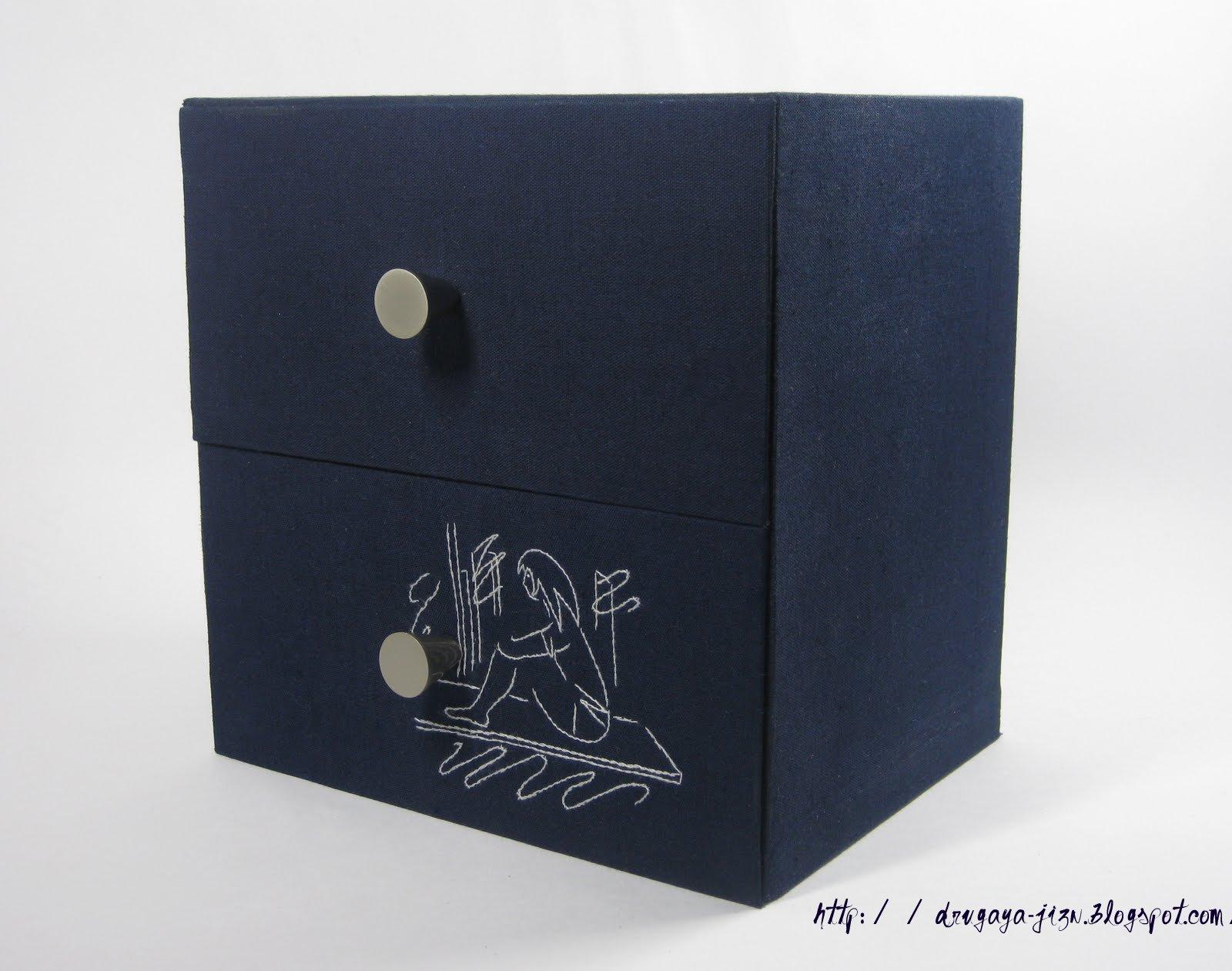 Шкаф с двумя ящиками своими руками
