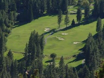 INCLINE VILLAGE CHAMPIONSHIP GOLF COURSE HOLES 10 AND 11.