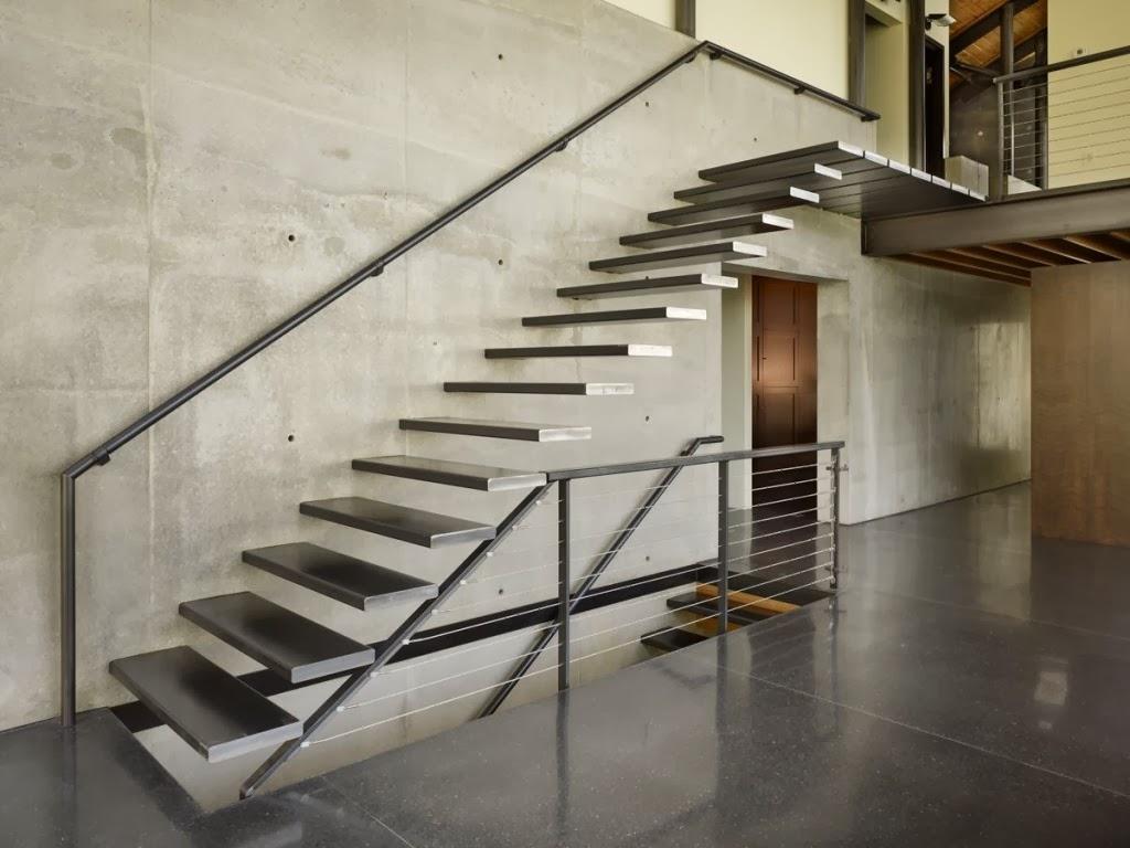 Minha escada modelos e dicas decorsalteado - Escaleras para casas modernas ...