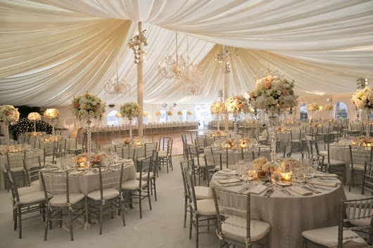 neutral wedding ideas wedding reception