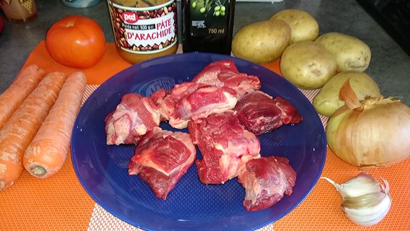 Ma cuisine facile rago t de b uf l arachide - Cuisine africaine facile ...