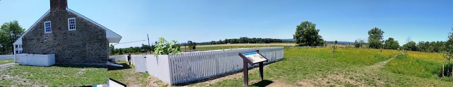 Lee's headquarters Gettysburg