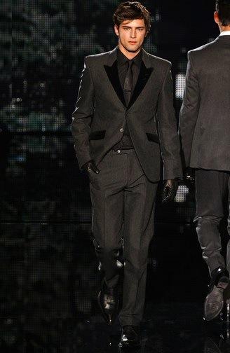 Vestido negro hombre bogota