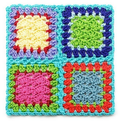 Crochet Stitches To Join Granny Squares : 10. Different Ways To Join Granny Squares