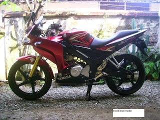 Photos of Modification New Yamaha Vixion