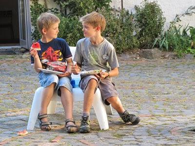Kinderbetreuung in der Sommerakademie Alfter