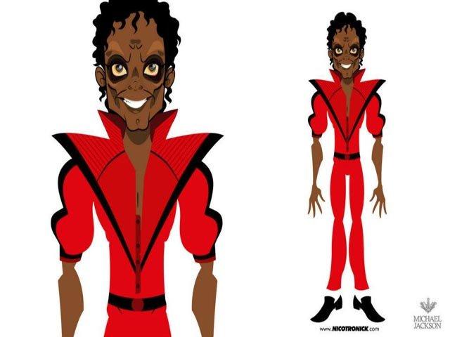Michael Jackson hecho caricatura | MICHAELFOREVER
