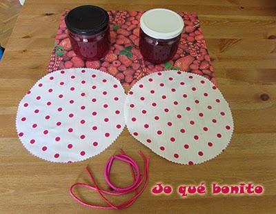 Mermelada de fresas: receta y decoración de los tarros
