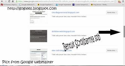 Cara Mengganti Scrollbar blog menjadi seperti google