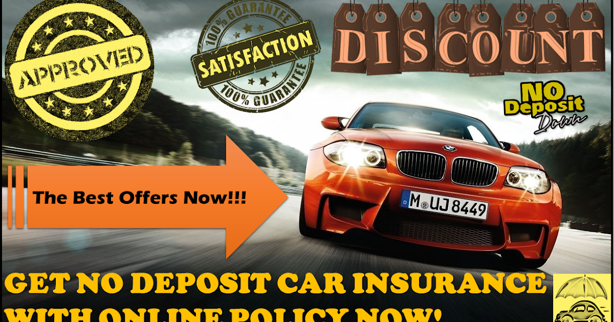 Car deals with free insurance no deposit