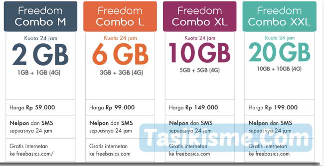 apa itu paket freedom combo im3
