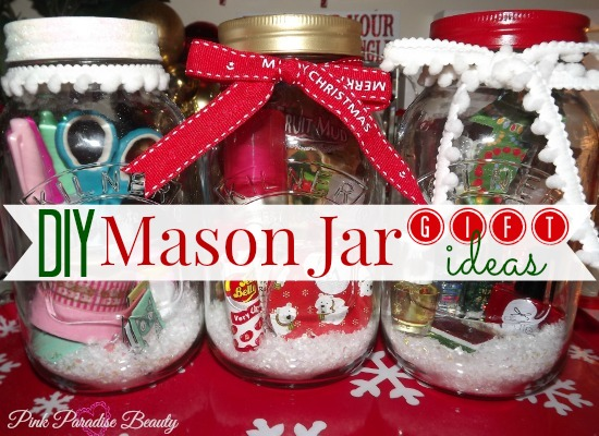 diy mason jar gift ideas pink paradise beauty. Black Bedroom Furniture Sets. Home Design Ideas