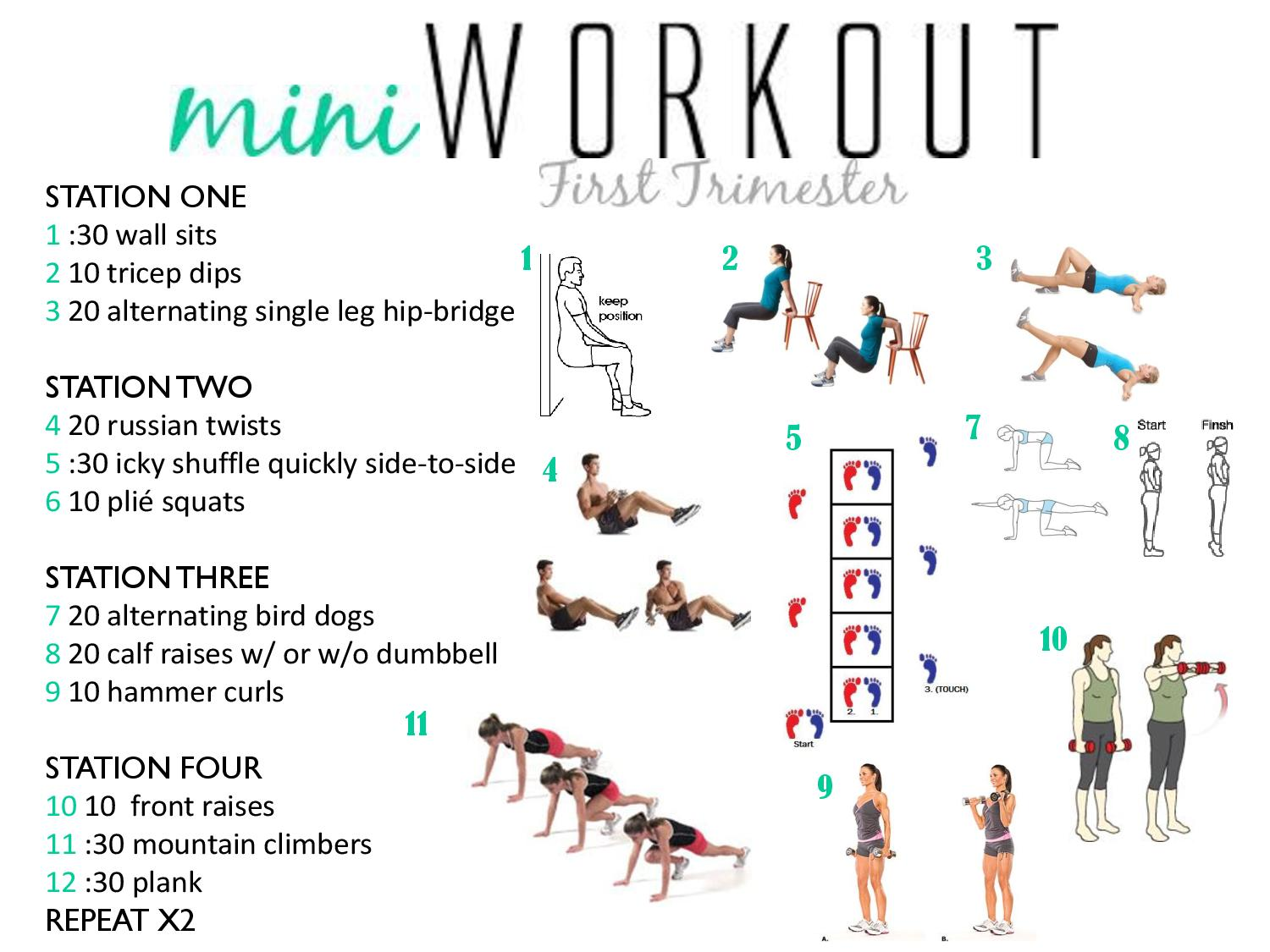Fit Momma Clean Baby : Fitness Tips For Your First Trimester