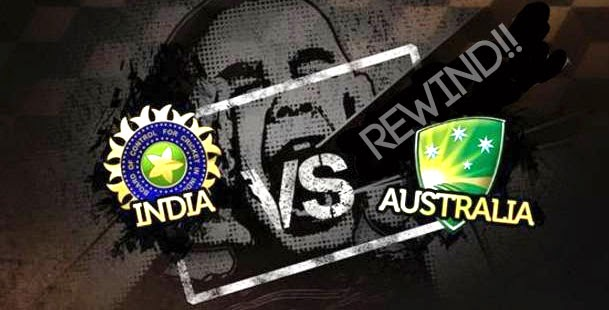 India vs Australia ODI Match Live Streaming 2015