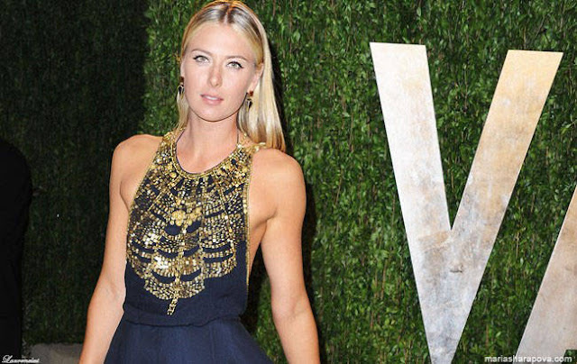Foto-Maria-Sharapova-vanity-fair-oscar-party