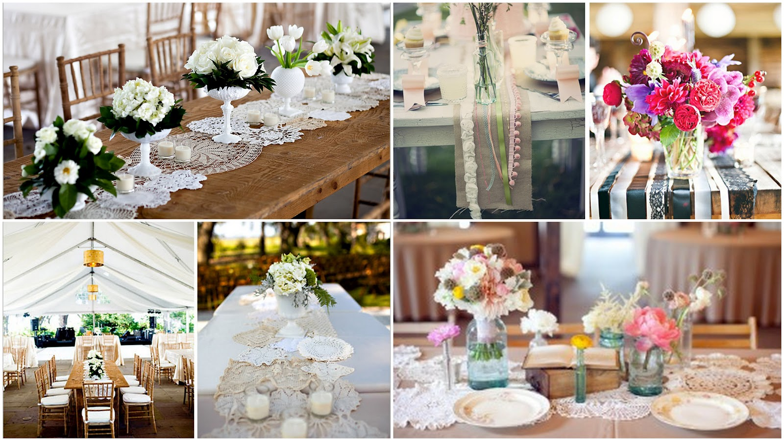 Charmant Adding A Table Runner Gives Another Dimension To Your Tablescape And Also  Brings Color And Texture In An Affordable Way. Create Groupings Of  Centerpieces ...