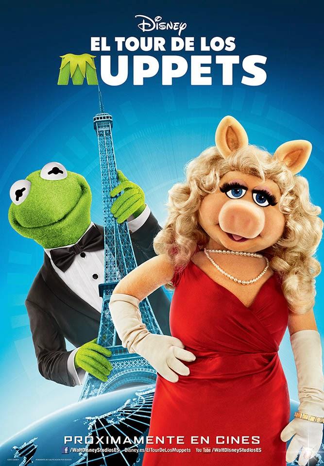 el Tour de los Muppets 2 para colorear