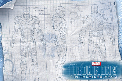 Iron Man 3 - Suit Plans