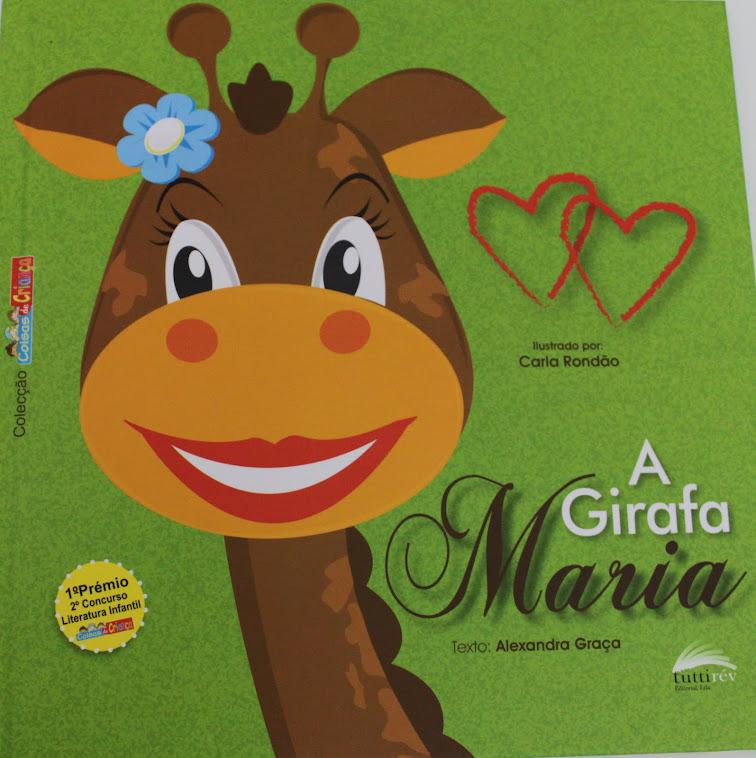 Livro a Girafa Maria - Comprar online