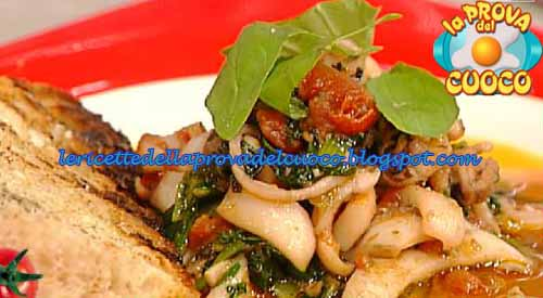 Inzimino di seppioline con zucca e cicoria ricetta La Prova del Cuoco