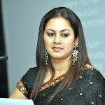 Tv Anchor Archana in Black Saree  Photo Set