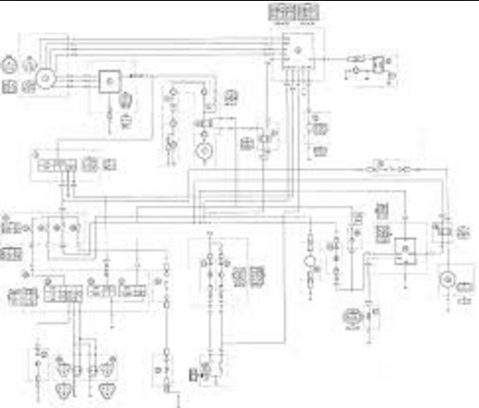 yamaha big bear 400 wiring diagramYfm250x Wiring Diagrams Yamaha Bear Tracker Atv Weeksmotorcycle #12