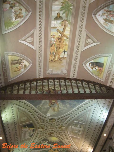 Ceiling of Basilica Minore del Santo Nino