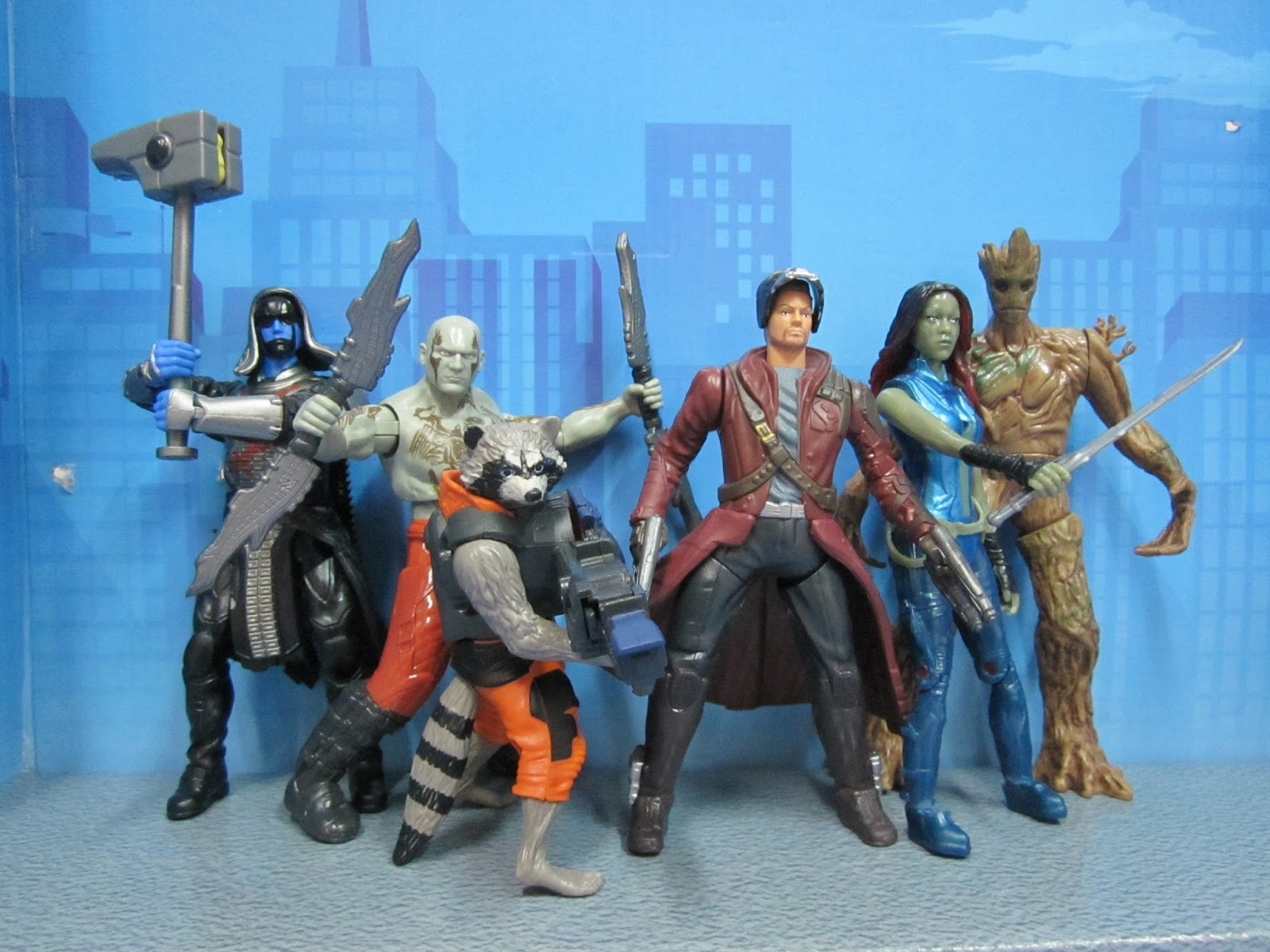 Calex Lampen Action : Mighty battlers guardians of the galaxy action figure planet