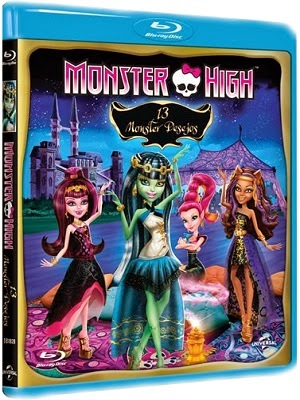T l charger monster high 13 wishes dvdrip french for Telecharger film chambra 13