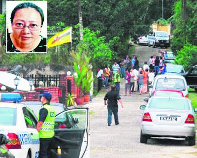 Siasat mayat wanita Malaysia dalam simen