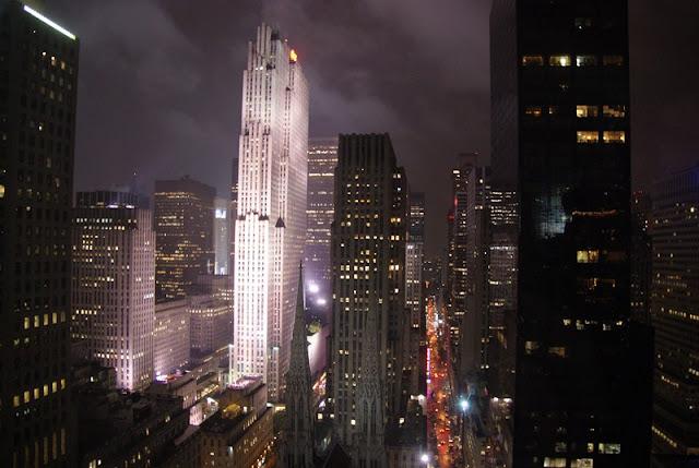 new york skyline, luna di miele fashion and cookies