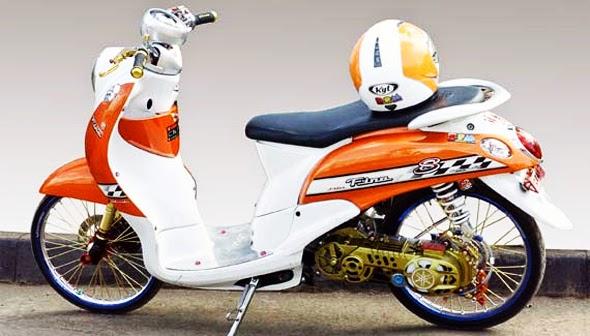 Foto dan Gambar Modifikasi Yamaha Mio Fino Keren Terbaru