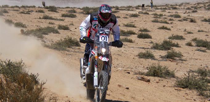 Pablo Quintanilla se quedó con el primer lugar en el Rally Atacama
