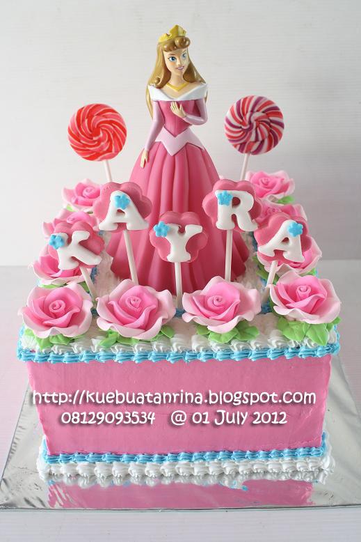 Masama Cakes Princess Aurora Themed Birthday Cake For Kayra