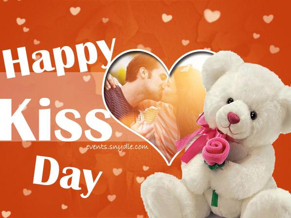 Beso Día Tarjetas Felicitaciones Imagenes Mensajes