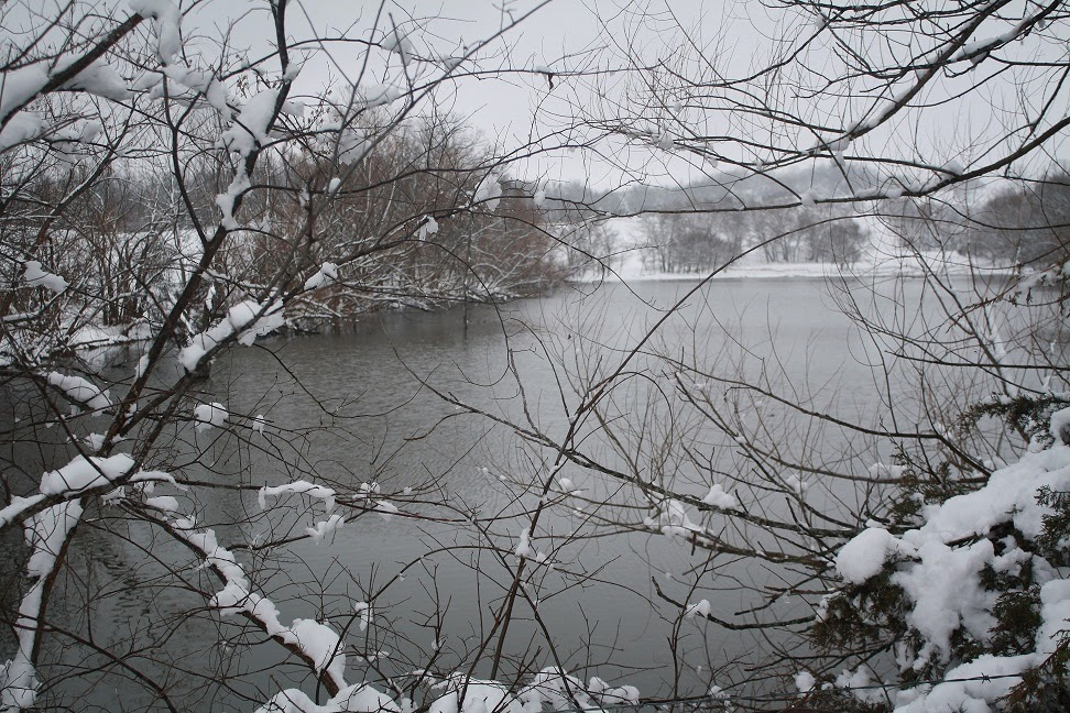 Our lake in winter
