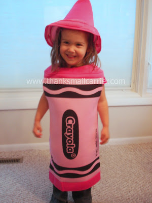 Crayola crayon costume
