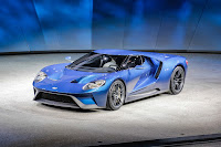 New Ford GT Blue