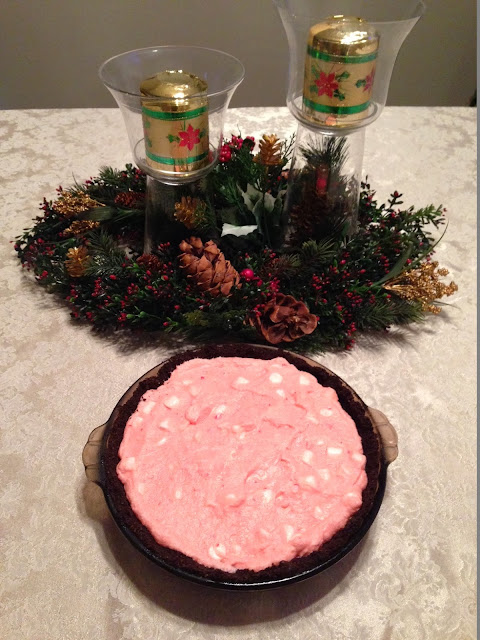 Peppermint Fudge Pie: A delicious, light holiday pie