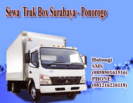 Sewa Truk Box Surabaya - Ponorogo