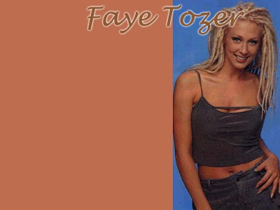 British Actress Faye Tozer Wallpaper