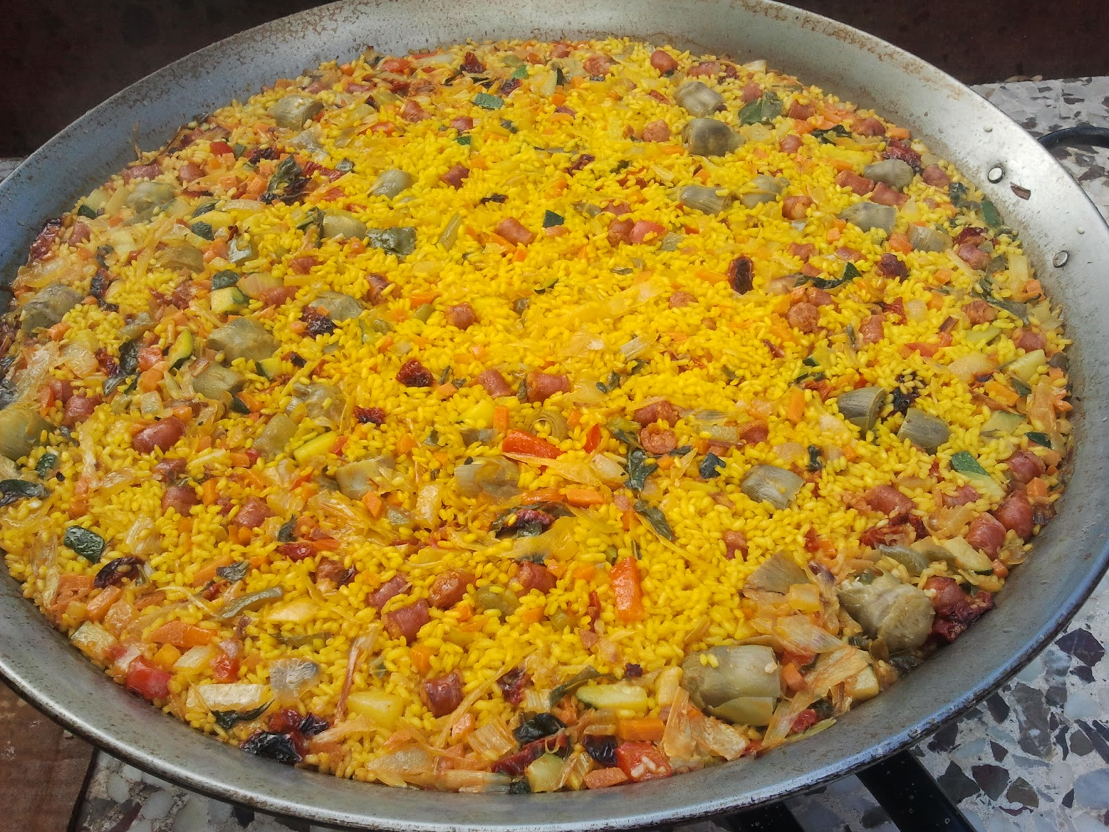 Las comidicas de mamen paella de verduras for Como hacer paella de verduras