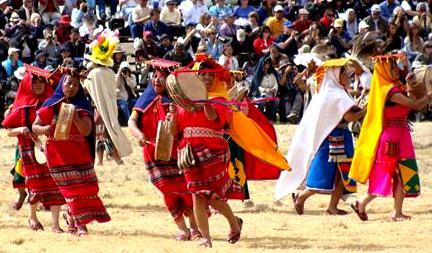 Fiesta del Inti Raymi o Fiesta del Sol