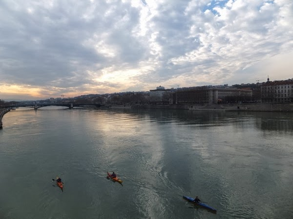 Lyon pont guillotière