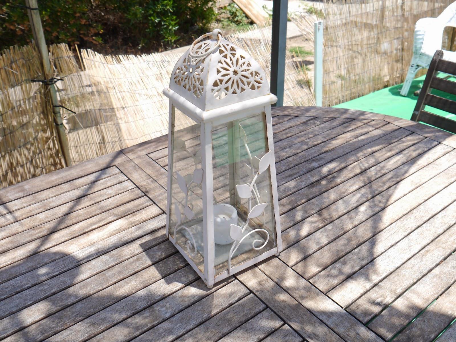 photo of a lantern