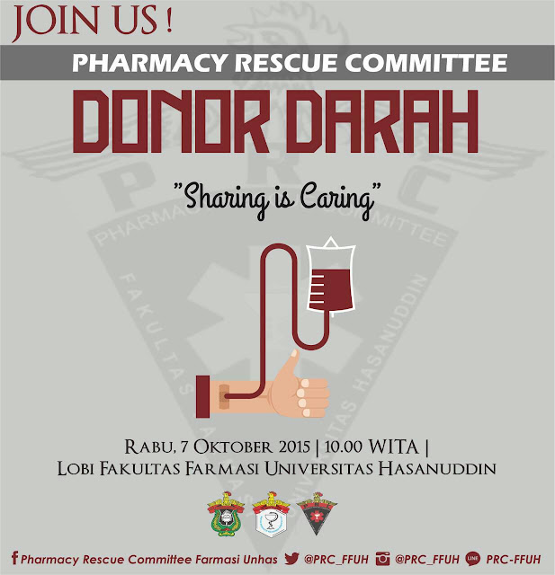[Agenda] Donor Darah PRC