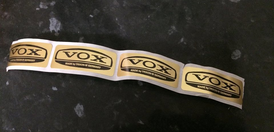 VOX ORIGINAL STICKERS