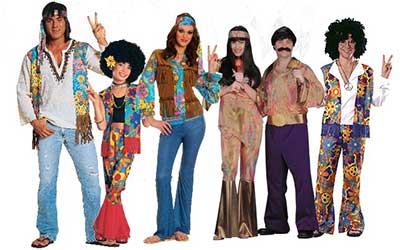 Ciencias naturales ceuja 2015 la moda y su historia - Hippies anos 70 ...