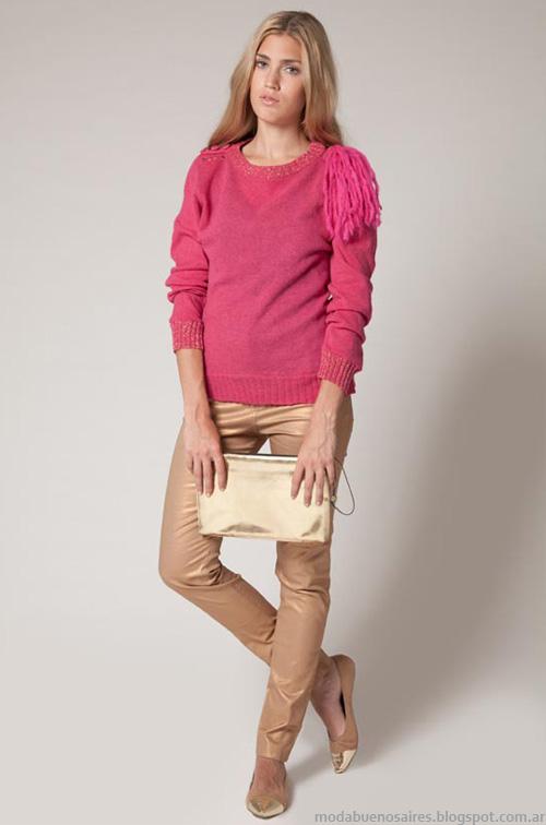 Sweaters invierno 2013 moda Agostina Bianchi