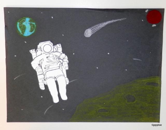 astronaut art project - photo #10